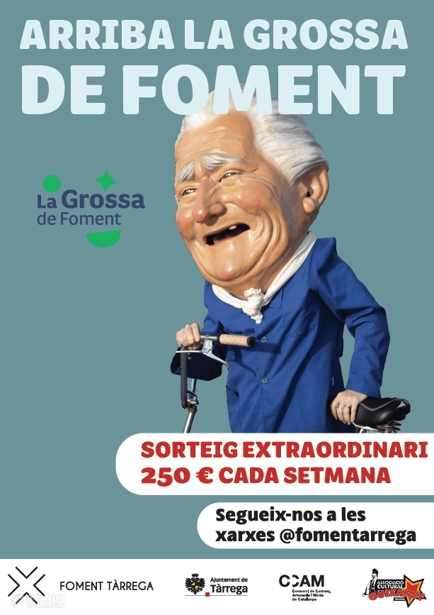 Foment Tàrrega, presenta la campanya 'LA GROSSA DE FOMENT'