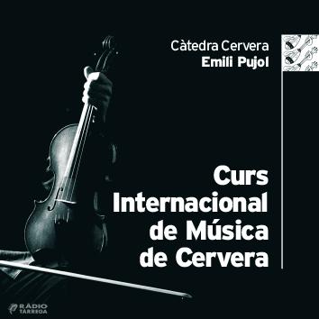 El Curs Internacional de Música de Cervera obre les inscripcions per a la 40a edició, que es farà del 9 al 19 de juliol