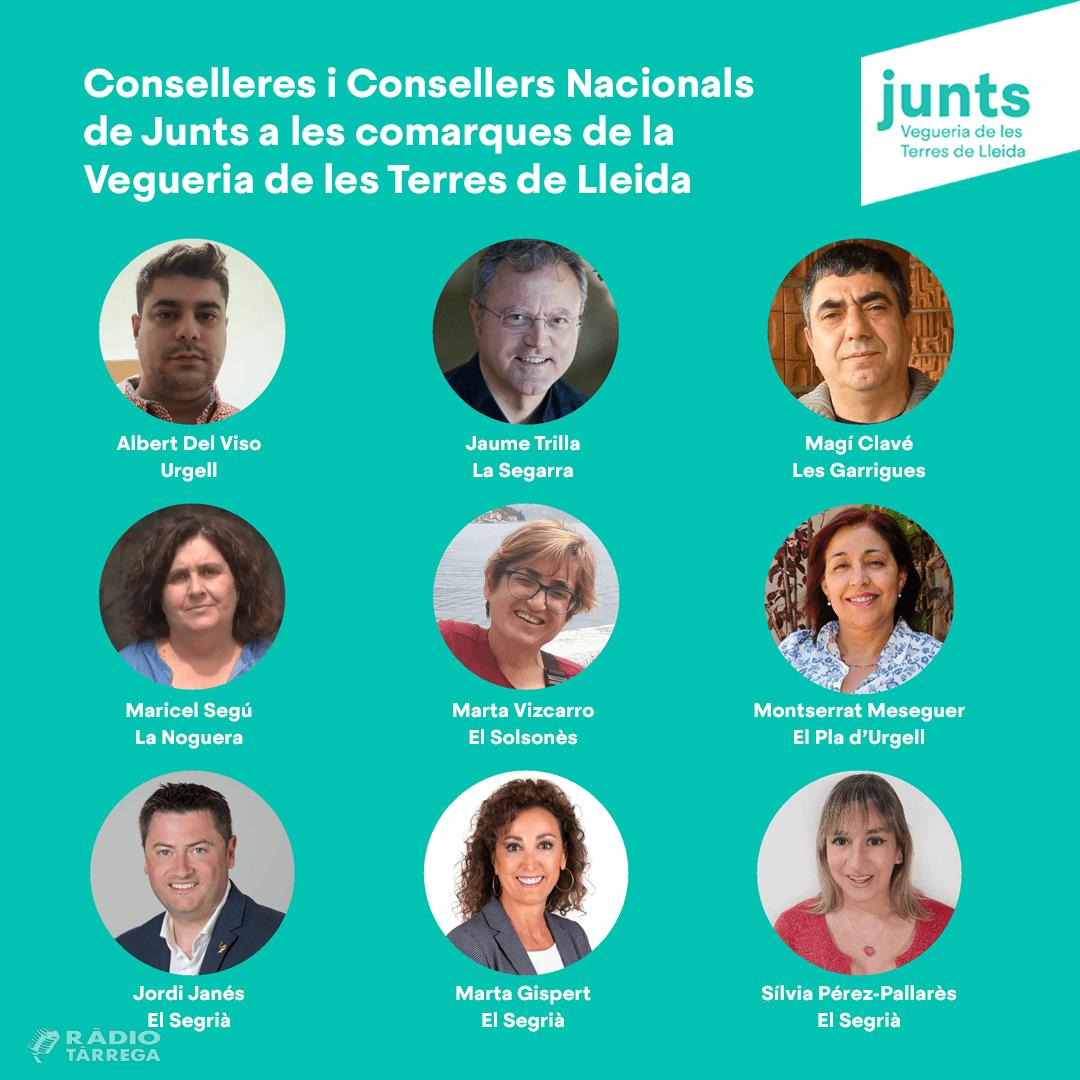 Els afiliats i afiliades de Junts de l'Urgell escullen a Albert del Viso com a representant per al Consell Nacional