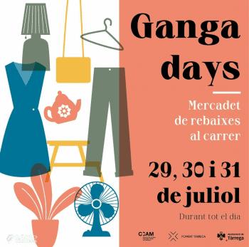 """Foment Tàrrega organitza el """"Ganga Days"""", tres dies de botigues al carrer amb preus de Ganga"""