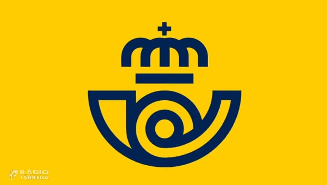 Tàrrega i nou municipis més de Lleida tindran caixers automàtics de Correus en els pròxims tres anys
