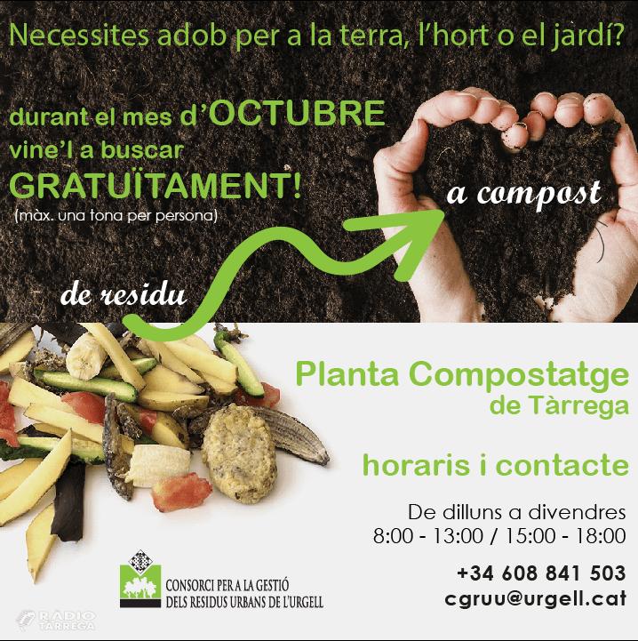 Campanya de promoció de l'ús del compost com a adob