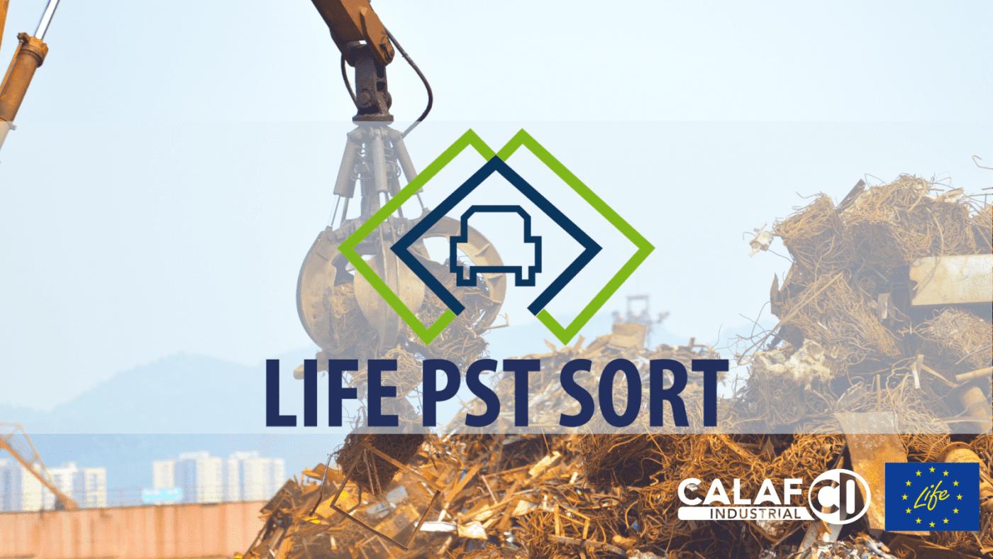 Solución innovadora para la recuperación de material de residuos de trituración de vehículos al final de su vida útil (VLE)