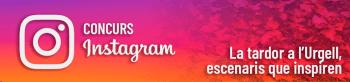 Concurs fotogràfic d'Instagram de Turisme Urgell,  fins el 30 de novembre!!