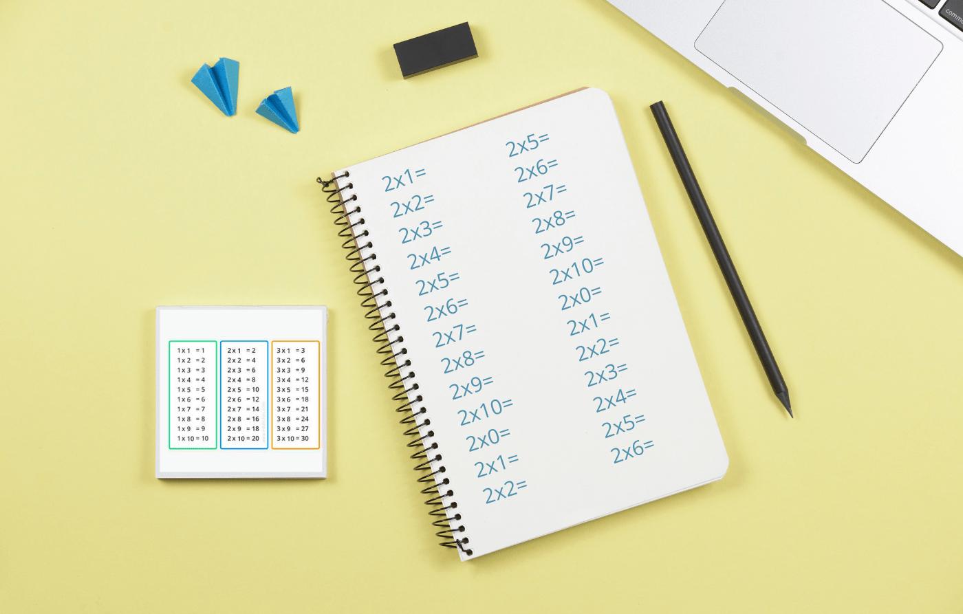 Tips per aprendre les taules de multiplicar