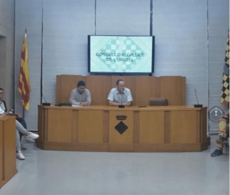 CONSTITUCIÓ DEL NOU CONSELL D'ALCALDES DE L'URGELL
