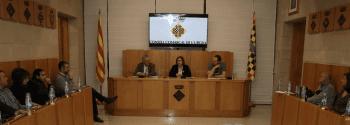 TROBADA DE ROSA MARIA PERELLÓ AMB ELS ALCALDES DE L'URGELL PER INFORMAR DELS PROJECTES DE LA DIPUTACIÓ AL TERRITORI