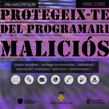 Protegeix-te del programari maliciós
