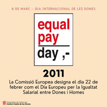 Dia Europeu per la Igualtat Salarial entre Dones i Homes