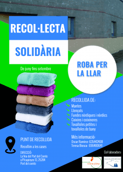 Recol·lecta solidària