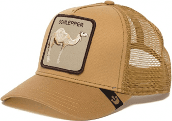 Gorra trucker marrón dromedario Hump Day de Goorin Bros