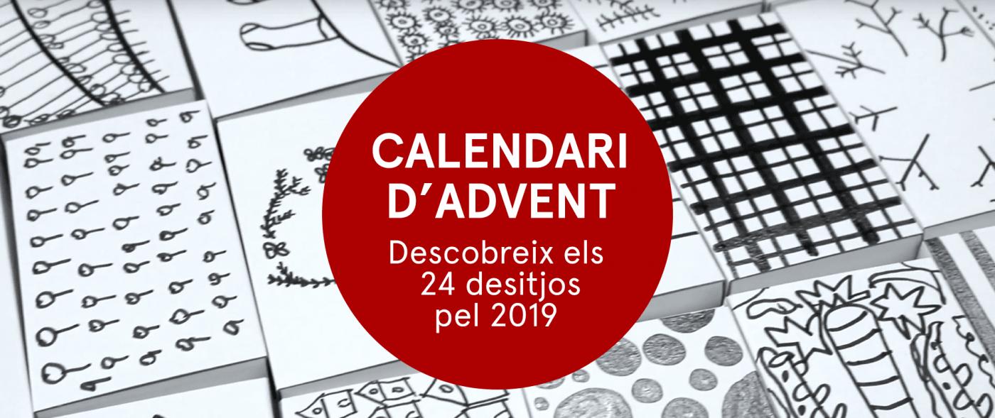 La nostra felicitació de Nadal amb 24 desitjos pel 2019