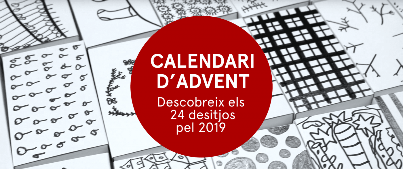 Calendari d'advent. 24 desitjo pel 2019