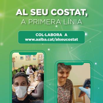 El Grup Alba inicia una campanya de donacions per fer front a l'impacte del COVID19 a l'entitat.