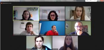 Es realitza la tercera trobada virtual amb els socis del projecte #MakeitHappen