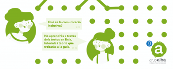 El Grup Alba elabora una Guia de comunicació inclusiva