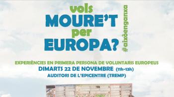 El voluntariat europeu arriba al Pallars Jussà