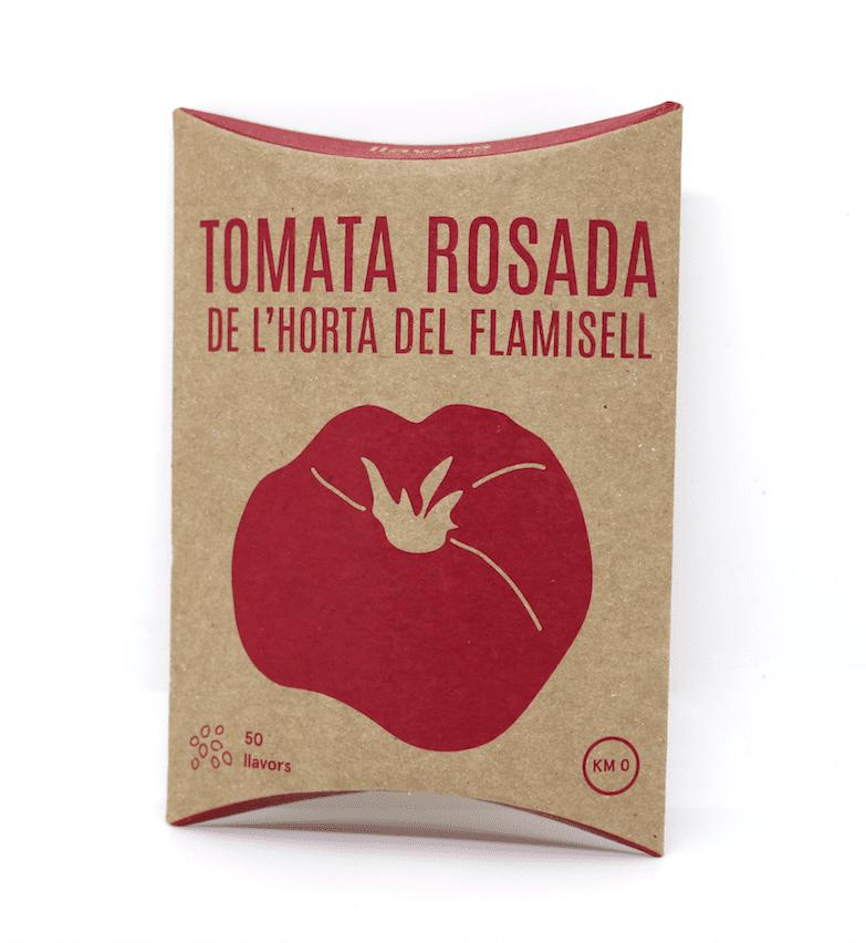 TOMATA ROSADA DE L'HORTA DEL FLAMISELL