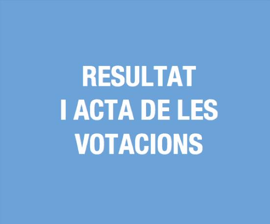 acta votacions 2019