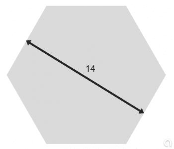 Hexagonal Macizo EN 10278 c.d. - 1