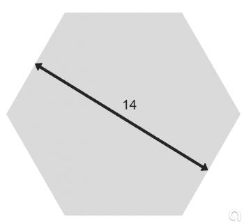 Hexagonal de Latón Estirada