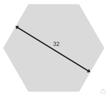Hexagonal de Latón Estirada - 1