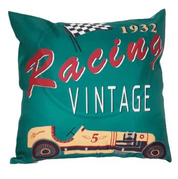 Funda cojín coche Vintage 45 x 45