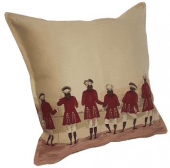 Funda cojín casaca roja - 2