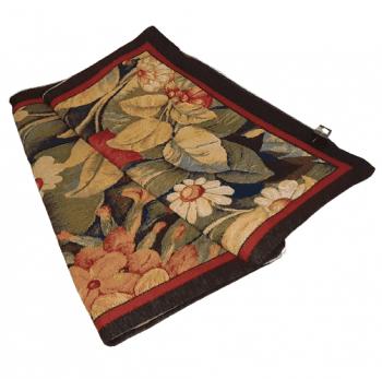 Fundas cojines tapiz flores 50 x 50 - 1