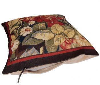 Fundas cojines tapiz flores 50 x 50 - 4