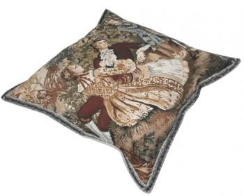 Funda cojín tapiz flauta 40 x 40 - 2