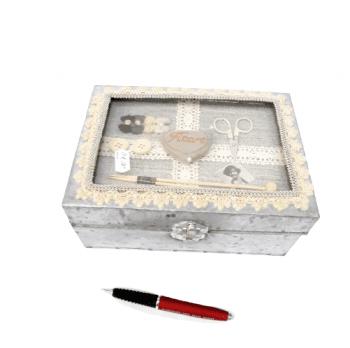 Caja metálica costura