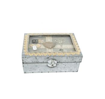 Caja metálica costura - 1