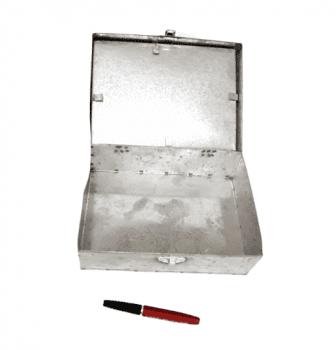 Caja metálica costura - 2