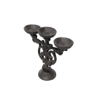 Candelabro hierro fundido - 1
