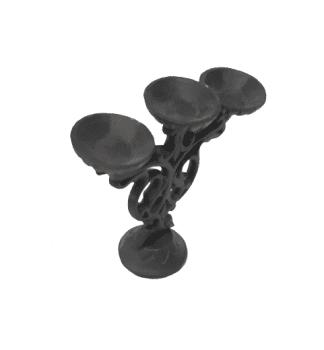 Candelabro hierro fundido - 3