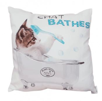 Cojines gato bañera 45 x 45