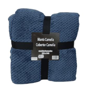 Mantas Camelia azul
