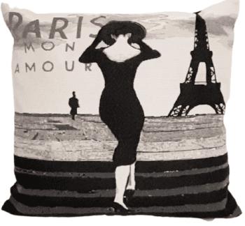 Fundas cojines París mon amour 45 x 45
