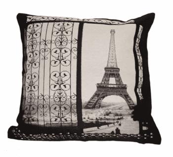 Fundas cojines verja Torre Eiffel 45 x 45