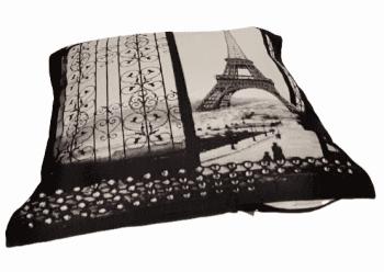 Fundas cojines verja Torre Eiffel 45 x 45 - 2