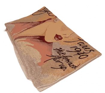 Funda cojín tejido 1940 dama  45 x 45 - 1