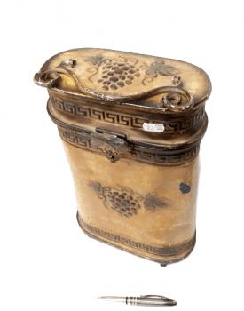 Caja vintage portabotellas - 2