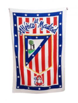 Toalla playa Atlético de Madrid 1995