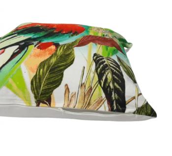 Cojín papagayo rojo 45 x 45 - 2