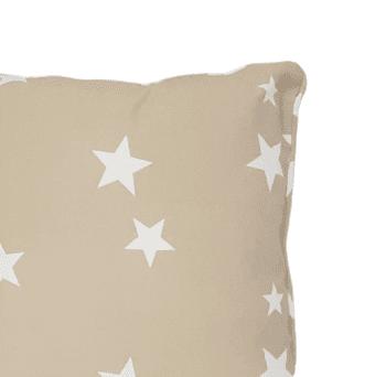 Cojines estrellas beige 40 x 40 - 2