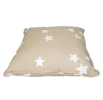 Cojines estrellas beige 40 x 40 - 3