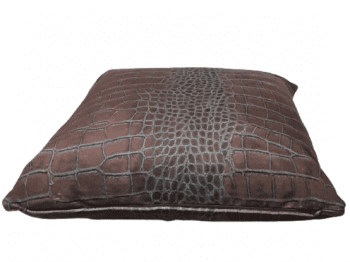 Cojin chocolate piel 45 x 45 - 4