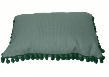 Cojín rectangular madroños verdes - 3