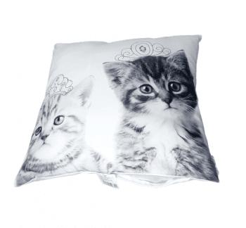 Cojines gatitos reyes 40 x 40 - 2